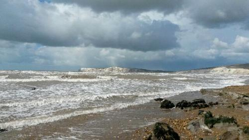 Rough sea at Compton