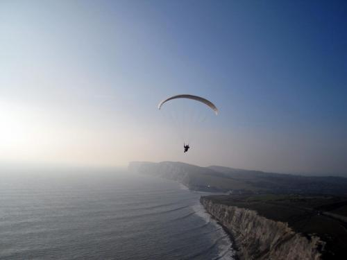 Flying the White Cliffs
